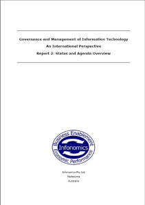 Governance and Management of IT Report Cover